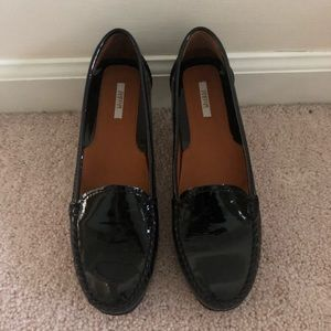 NEW Italian patent leather loafers